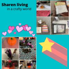 sharen living in a crafty world